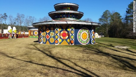 Eddie Owens Martin's folk art environment Pasaquan was recently restored and is set to open this year.