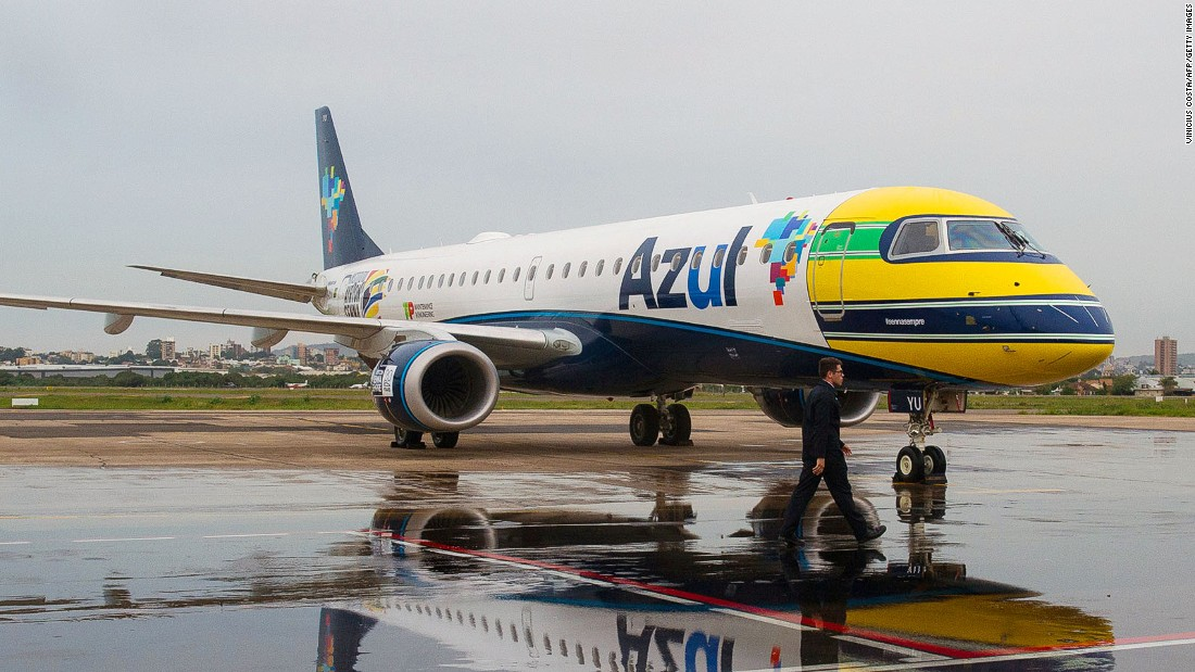 Established in 2008, low-cost carrier Azul is Brazil's third largest airline. It's the world's third most punctual.