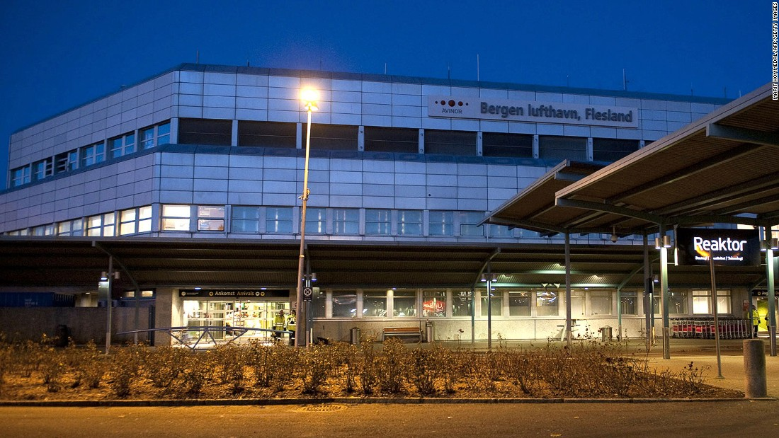The second Norwegian destination to make the small-airport list, Bergen's 90.91% of on-time flights earns in fifth place.
