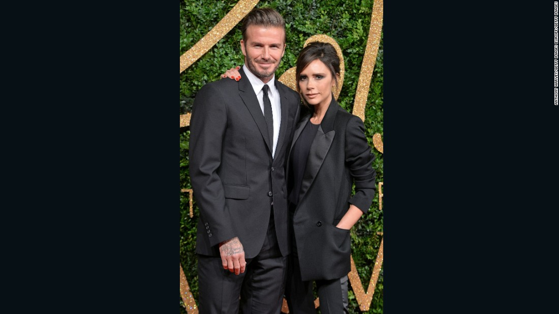 David Beckham Leads The Male Icons At The GQ Men Of The Year Awards 2013