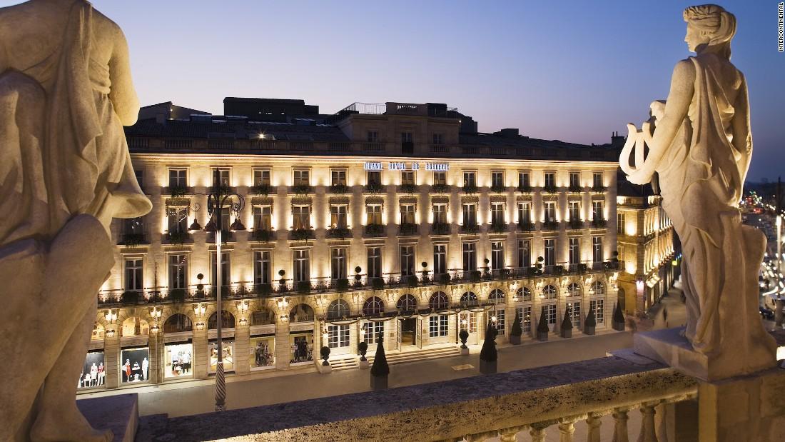 The latest addition to the InterContinental portfolio is set in a historic property in Bordeaux's elegant main square, La Place de la Comedie.