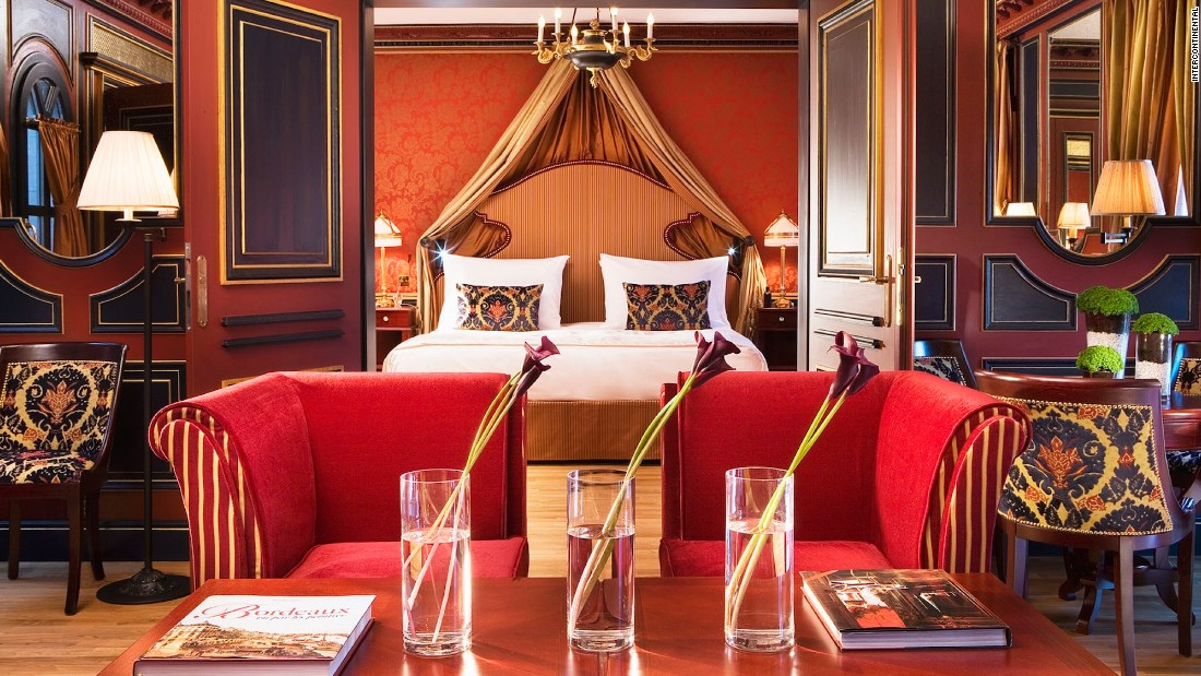Set in the 130-room former Grand Hotel de Bordeaux & Spa, it has meeting rooms, an indoor pool and a Gordon Ramsay restaurant.