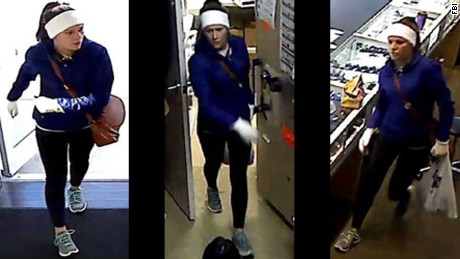 The FBI, in conjunction with state and local law enforcement agencies, is seeking to the identity of a two suspects who are believed to have been involved in multiple jewelry store robberies in Florida, Georgia, South Carolina, Tennessee, and North Carolina.
