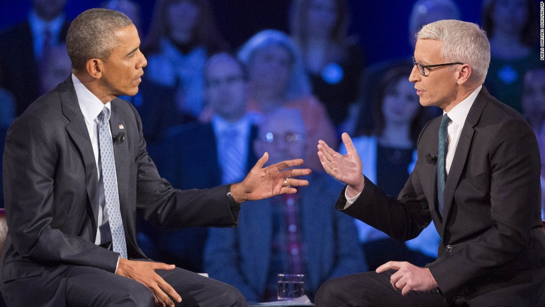 "Obama said he sees two sides of the gun issue. In Chicago, where gun crime is a serious issue, it's sometimes cheaper for young Americans to get a gun than a book, he said. But he noted that when he and his wife were in Iowa on the 2008 campaign trail, she said that if she lived in a farm house with a far away sheriff's department and easy access to the house from the highway: "" 'I'd want to have a shotgun or a rifle to make sure I was protected and my family was protected,' "" Obama said. ""And she's absolutely right."""