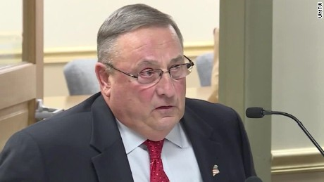 maine governor paul lepage shifty d money drugs sot_00000000