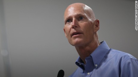 MIAMI GARDENS, FL - JULY 13:  Florida Governor Rick Scott as he visits the Marian Center which offers services for people with intellectual disabilities on July 13, 2015 in Miami Gardens, Florida. The Governor held a bill signing ceremony at the center for Senate Bill 642, the Florida Achieving a Better Life Experience (ABLE) Act as well as took the opportunity to highlight funding for the Agency for Persons with Disabilities included in the 2015-2016 state Budget.  (Photo by Joe Raedle/Getty Images)