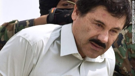 'El Chapo' back in the prison he escaped from