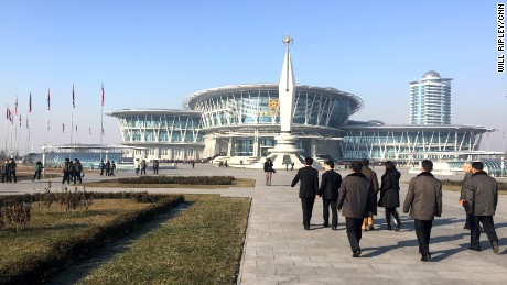 The North Korean Science & Technology Center in Pyongyang.