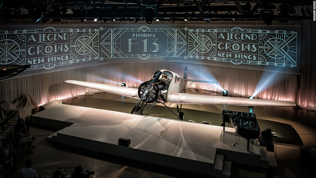 German luggage manufacturer RIMOWA has financed the building of an exact replica of a Junkers F13, the world's first all-metal aircraft. The new F13 will soon accept reservations from passengers.