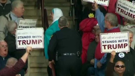 Muslim woman gets kicked out of Trump rally Zeleny AC _00005913.jpg