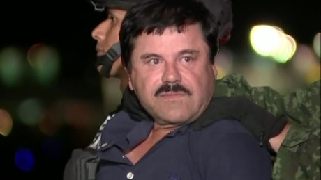Video shows drug kingpin 'El Chapo' in custody