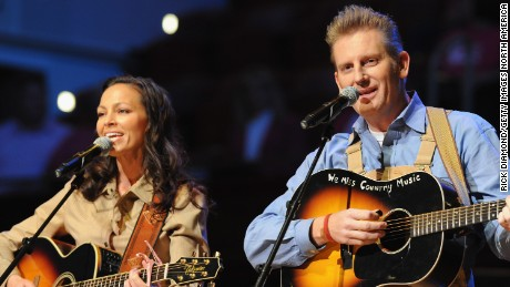 NASHVILLE, TN - OCTOBER 28:  Joey + Rory are Joey Martin Feek, Rory Feek perform at The 17th Annual Inspirational Country Music Awards at Schermerhorn Symphony Center on October 28, 2011 in Nashville, Tennessee.  (Photo by Rick Diamond/Getty Images for CCMA)