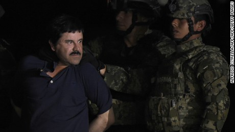 Wife of 'El Chapo': They want to make him pay