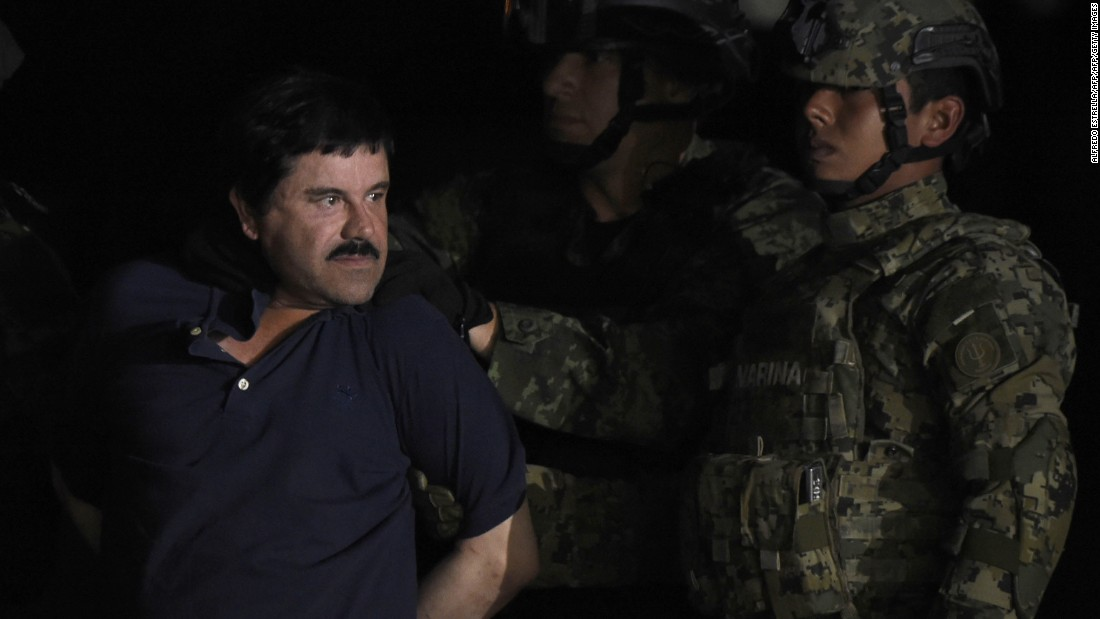 A timeline of Guzman's reign on the run