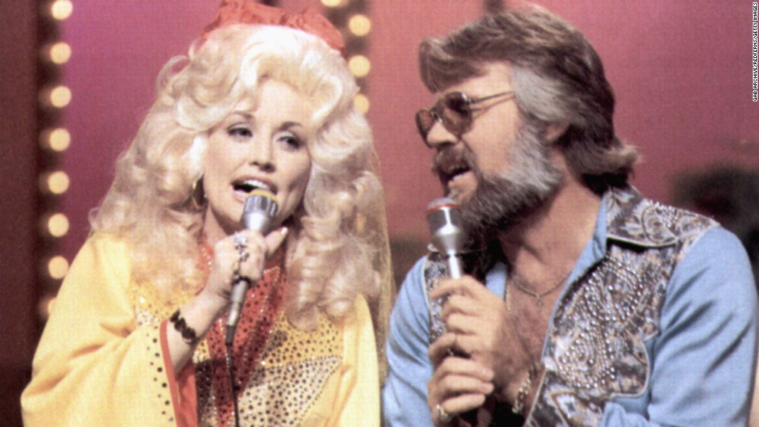 "Parton and Kenny Rogers recorded several duets together. The first was perhaps the biggest: ""Islands in the Stream."" The song hit No. 1 in 1983 and topped a Country Music Television poll on duets in 2005."