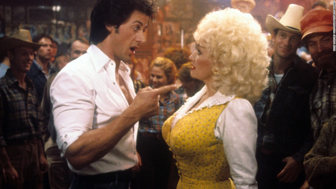 "Parton has had some unexpected partners. In 1984, she co-starred with Sylvester Stallone in the movie ""Rhinestone."" She plays a country singer who has to teach a cab driver to go country in two weeks. The two did a duet on the song ""Sweet Lovin' Friends."""