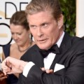 golden globes red carpet 2016 - David Hasselhoff