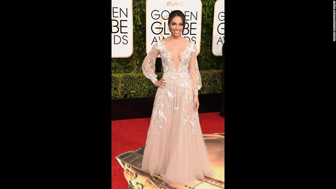 Corinne Foxx, Miss Golden Globe 2016