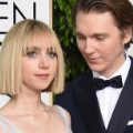 golden globes red carpet 2016 - Zoe Kazan and Paul Dano