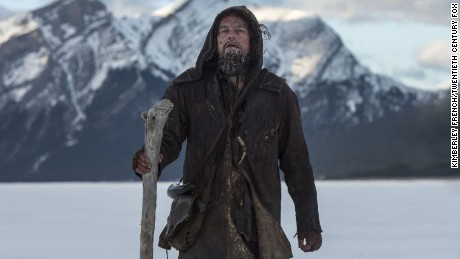 DF-21699R -- Guided by sheer will and the love of his family, Hugh Glass (Leonardo DiCaprio) must navigate a vicious winter in a relentless pursuit to live and find redemption.