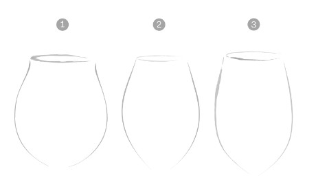 Which of these glass shapes is best for a Pinot Noir? See Georg Riedel's answer in the gallery above
