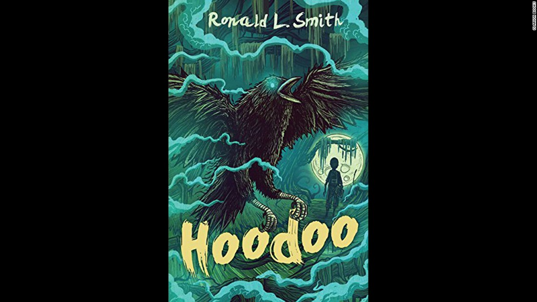 "<strong>Coretta Scott King - John Steptoe New Talent Author Award: </strong>""Hoodoo,"" written by Ronald L. Smith.<br />"