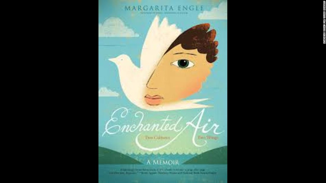 "<strong>Pura Belpré (Author) Award: </strong>""Enchanted Air: Two Cultures, Two Wings: A Memoir,"" written by Margarita Engle."