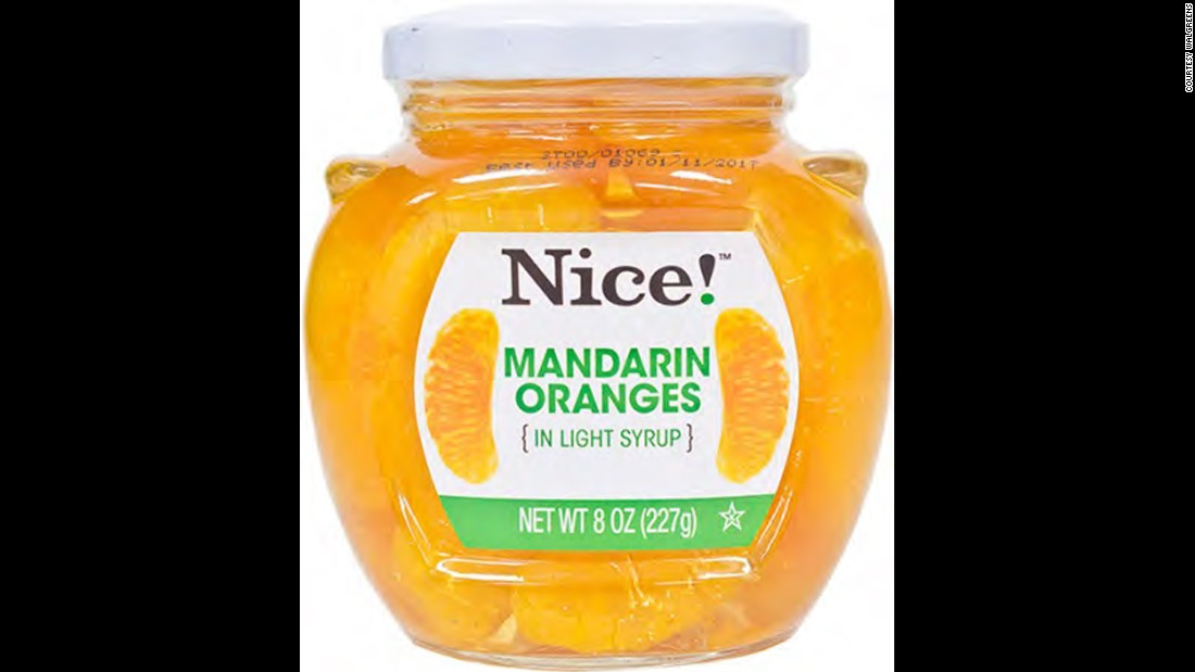 Milky Way International Trading Corp. announced a recall of its 8-ounce bottles of Nice! Mandarin Oranges because of glass in the product. The oranges were distributed to Walgreens stores.
