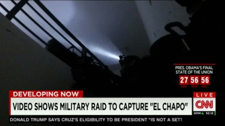 Video shows firefight during raid on El Chapo's hideout
