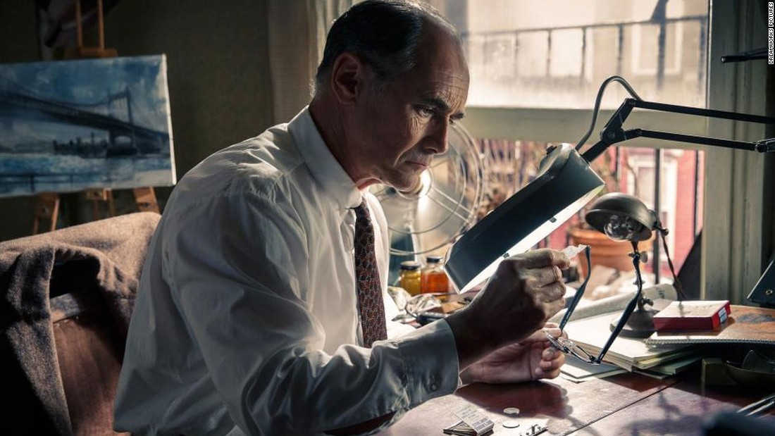 "<strong>Best supporting actor: </strong>Mark Rylance, pictured (""Bridge of Spies""), Sylvester Stallone (""Creed""), Mark Ruffalo (""Spotlight""), Christian Bale (""The Big Short"") and Tom Hardy (""The Revenant"")."