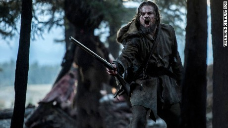 DF-02339R -- Leonardo DiCaprio stars as legendary explorer Hugh Glass.
