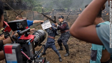 Chinese investors influence Hollywood