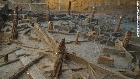 History made: In an astonishing Bronze Age discovery a 3000-year-old community has been unearthed
