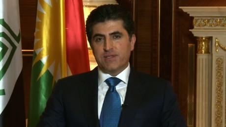 Christiane Amanpour interviews the prime minister of Iraqi Kurdistan, Nechirvan Barzani.
