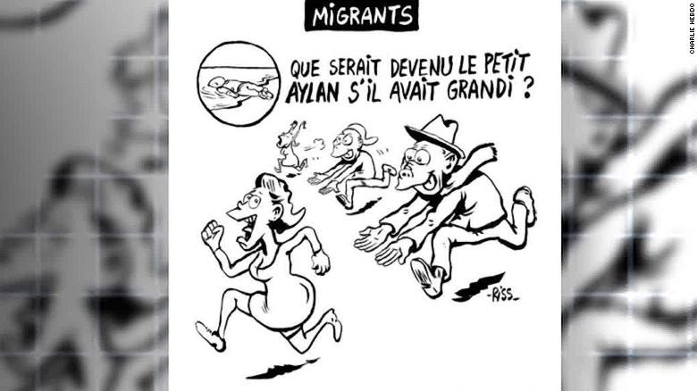 New Charlie Hebdo cartoon stirs controversy