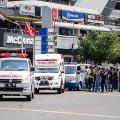 indonesia jakarta blast ambulance 0114