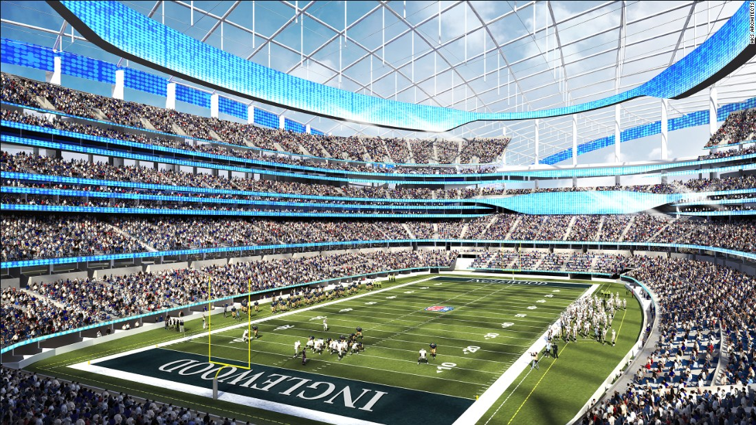 The Rams are hoping the San Diego Chargers or the Oakland Raiders will join them at the new development.