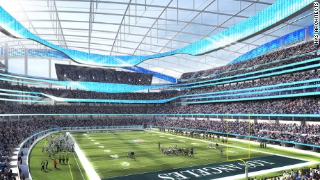 Los Angeles Rams Stadium To Be World S Most Expensive