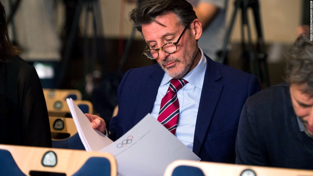 "WADA's report on alleged widespread drug use in international athletics concluded that senior figures including IAAF president Sebastian Coe (pictured) ""could not have been unaware of the extent of doping."""
