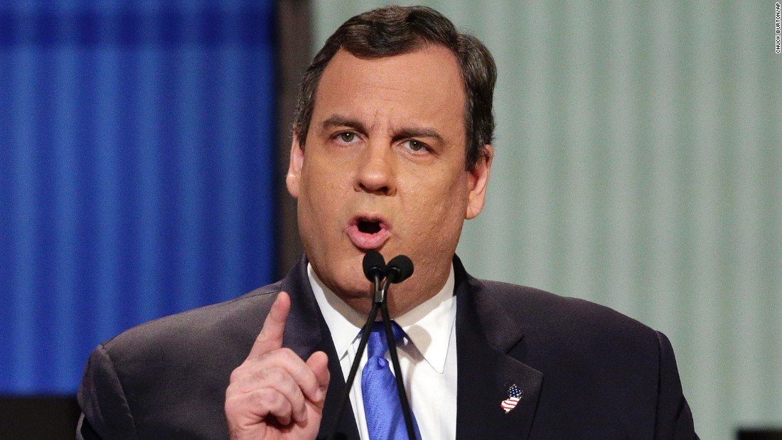 "Christie, like most of the candidates on stage, continued to be tough on the current administration. ""Tuesday night, I watched story time with Barack Obama,"" he said of the recent State of the Union address. Christie also said ""you cannot give Hillary Clinton a third term of Barack Obama's leadership. I will not do that. If I'm the nominee, she won't get within 10 miles of the White House."""