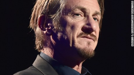 BEVERLY HILLS, CA - JANUARY 09:  Host Sean Penn speaks during the 5th Annual Sean Penn & Friends HELP HAITI HOME Gala Benefiting J/P Haitian Relief Organization at Montage Hotel on January 9, 2016 in Beverly Hills, California.  (Photo by Alberto E. Rodriguez/Getty Images for J/P HRO)