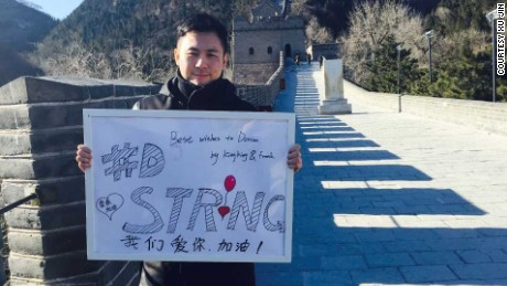 #DStrong: Chinese Internet users help dying U.S. boy realize wish