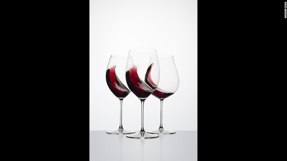 "Riedel outlines the four main flavor components in wine: fruit, salt, acidity and bitter. The flow of liquid to your palate, as influenced by the shape of the glass, can ""over-accentuate the bitter components or acidity"" of a wine, he says."