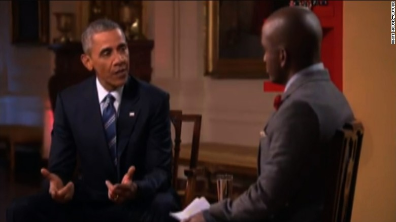 president obama youtube interview trump bash sot tsr_00002318