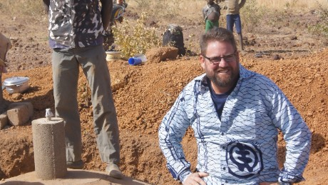 Michael Riddering was one of dozens killed when terrorists opened fire at a cafe in Burkina Faso.