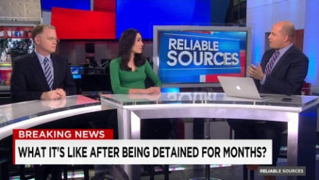 What happens after jailed journalists are released?_00015819