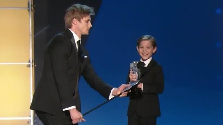 9-year-old actor's super cute acceptance speech