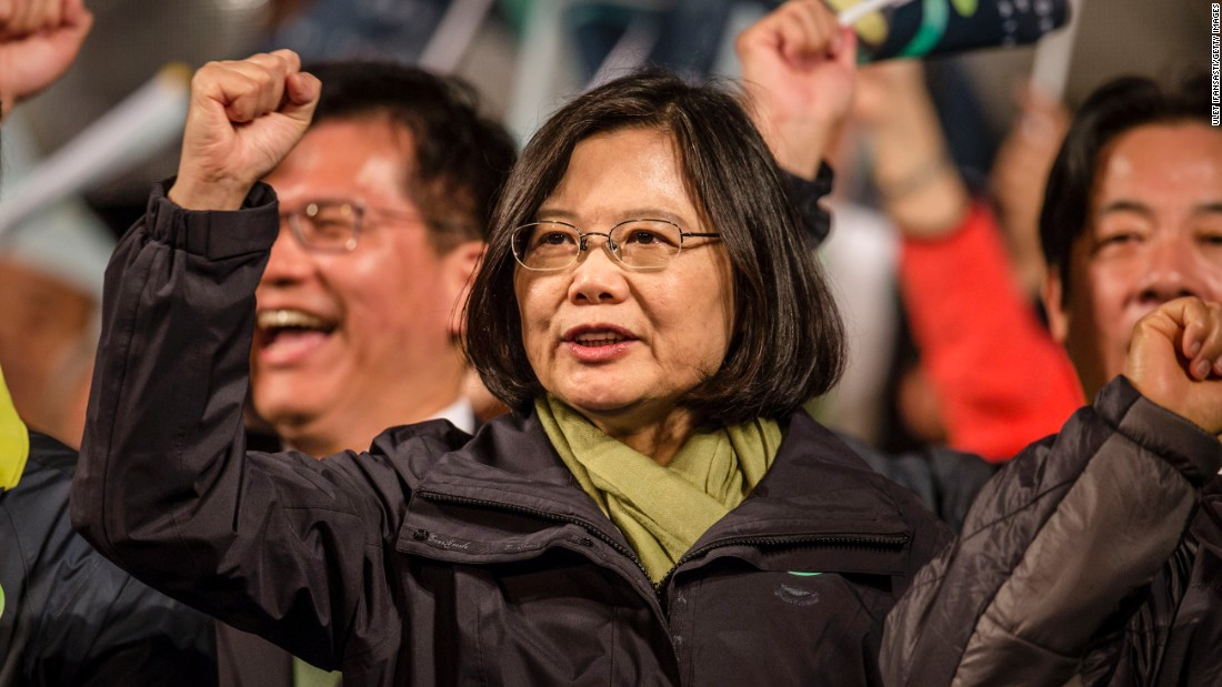 Tsai Ing-wen, 59, was elected Taiwan's first female president on January 16, 2016. The former law professor and leader of the opposition Democratic Progressive Party (DPP) will also gain control of Taiwan's legislature for the first time, following eight years of government under the ruling, pro-China Kuomintang (KMT) party.