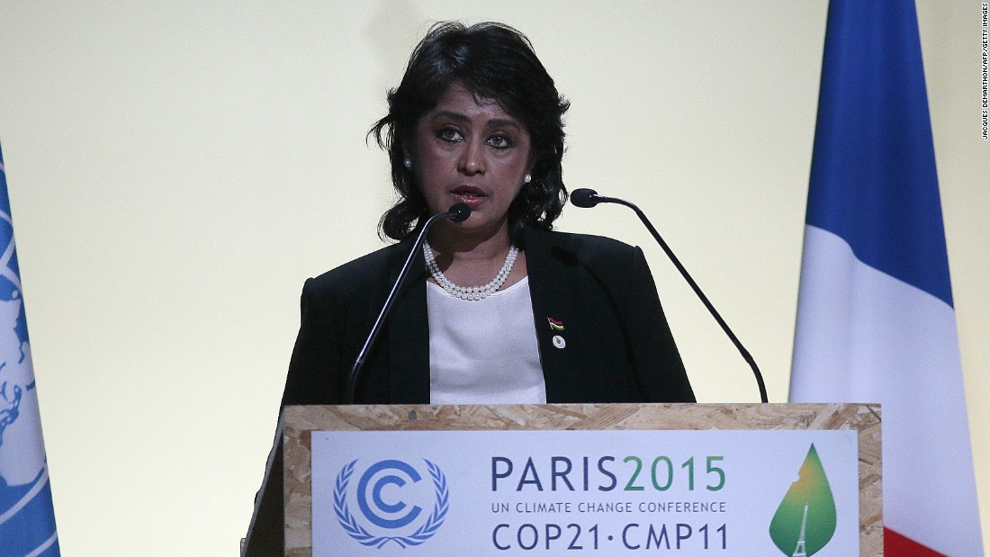 Ameenah Gurib-Fakim, 56, is the 6th and current President of Mauritius. The biodiversity scientist is the first woman elected to be the country's president.