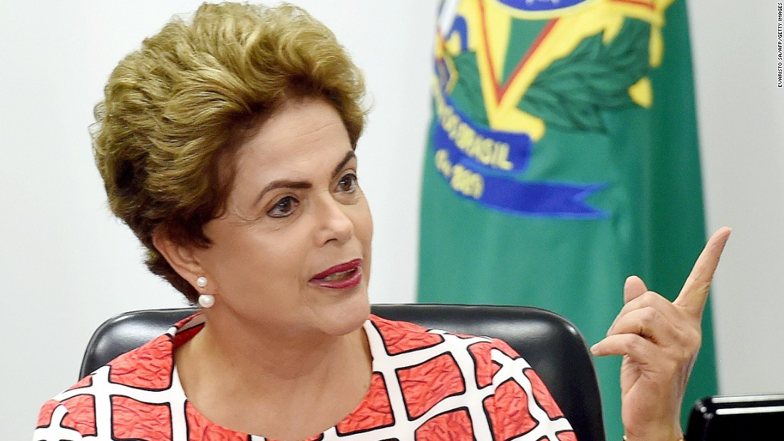 Dilma Rousseff, 68, is the 36th President of Brazil and the first female in the country to hold the office.